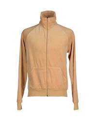 American Apparel Topwear Sweatshirts Men Camel