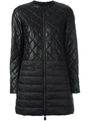 Save The Duck Quilted Padded Coat Black