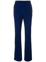 Carven Flared Trousers Blue