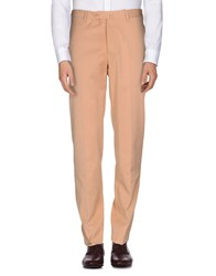 Luigi Borrelli Napoli Trousers Casual Trousers Men Apricot