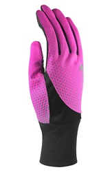 Nike 'Tailwind' Dri Fit Tech Gloves Pink Black