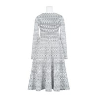Alaia Dress Blanc Noir