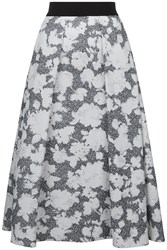 Damsel In A Dress Floral Corset Skirt Black And Ivory
