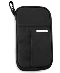 Samsonite Zip Close Travel Wallet Black