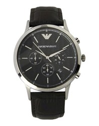 Emporio Armani Timepieces Wrist Watches Men Dark Brown