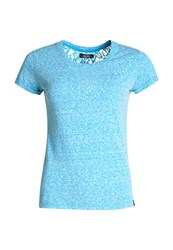 Superdry Super Sewn Rugged Lace T Shirt Blue