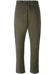 N 21 No21 Relaxed Fit Trousers Green