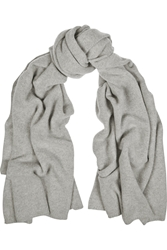 The Elder Statesman Wool And Cashmere Blend Scarf