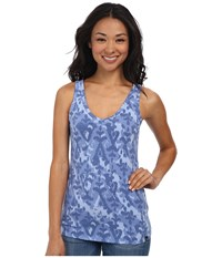 The North Face Willow Park Tank Vintage Blue Print Women's Sleeveless