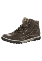 S.Oliver Laceup Boots Mud Brown