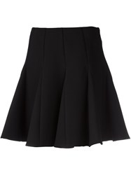 Red Valentino A Line Mini Skirt Black