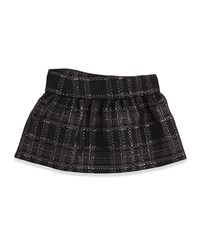 Lili Gaufrette Lisbeth Jupe Tweed Bow Skirt Sizes 2