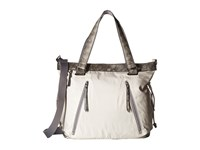 Sherpani Pace Birch White Snake Tote Handbags