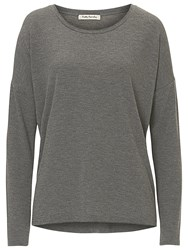 Betty Barclay Long Sleeved Top Middle Grey Melange