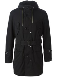 Equipe '70 Faux Shearling Lined Parka Black