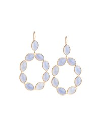 Linked Marquise Chalcedony Earrings Jamie Wolf Pink