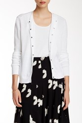 Marc By Marc Jacobs Long Sleeve Cardigan White