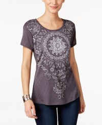 Styleandco. Style Co. Petite Graphic T Shirt Only At Macy's Pepper