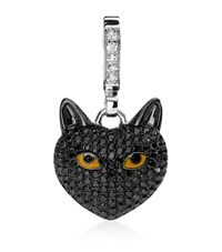 Theo Fennell Black Cat Pendant Female