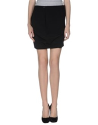 Annarita N. Knee Length Skirts Black