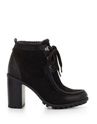 Sam Edelman Madge Sherpa Lined Ankle Boots Black