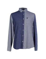 Desigual Shirts Shirts Men Blue