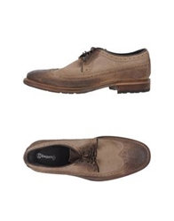 Bagatt Lace Up Shoes Khaki