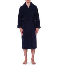 Ralph Lauren Terry Towelling Robe Navy