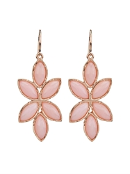 Irene Neuwirth Pink Opal And Rose Gold Earrings