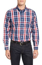 Brooks Brothers Men's No Iron Broadcloth Plaid Sport Shirt