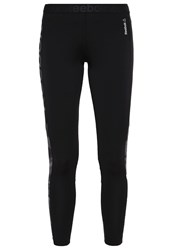 Reebok Tights Black Alloy