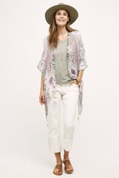 Anthropologie Pilcro Hyphen High Cuff Jeans White 25 Pants