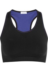 Yummie Tummie Chelsea Stretch Jersey Sports Bra Black