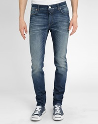 Closed Blue Stone Washed Slim Fit Jeans