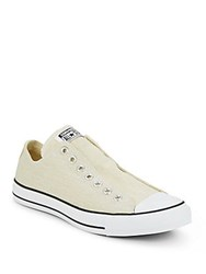 Converse Low Top Slip On Sneakers Seashell