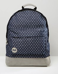 Mi Pac Denim Spot Backpack In Blue Blue