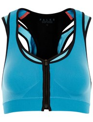 Falke Blue Maximum Support Sports Bra