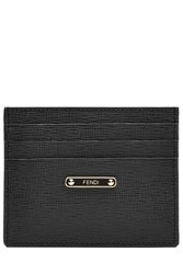 Fendi Leather Card Holder Pink