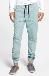 Men's Ezekiel 'Kamden' Denim Jogger Pants Light Blue