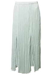More And More Maxi Skirt Green Turquoise