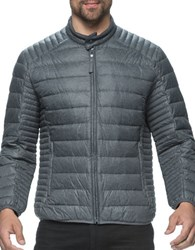 Marc New York Lincoln Quilted Puffer Jacket Fog