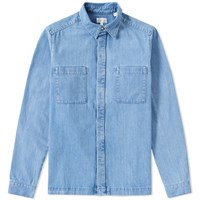 Gant Rugger Denim Shirt Jacket Blue