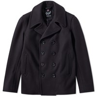 Gloverall Admiralty Peacoat Blue