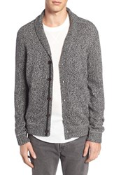 Treasure And Bond Men's Shawl Collar Button Cardigan