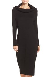Eliza J Women's Cowl Neck Sweater Midi Dress