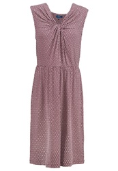 Tom Tailor Jersey Dress Bright Plum Lilac