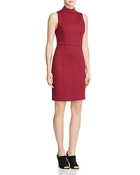 French Connection High Line Lula Dress Zinfandel