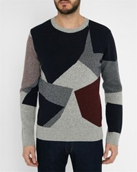 Commune De Paris Grey Toudic Pattern Sweater