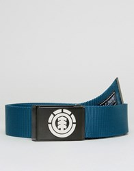 Element Beyond Webbing Belt Blue