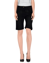 Combobella Denim Bermudas Black